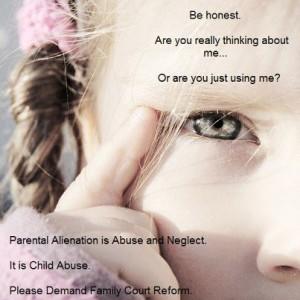 Little-Girl-parental-alienation